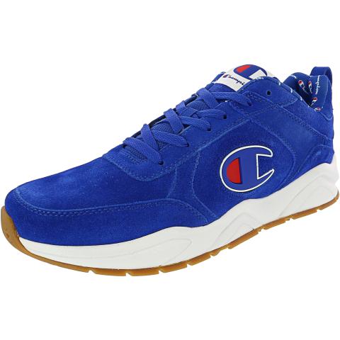 Champion Men's 93Eighteen Big C Ankle-High Suede Fashion Sneaker