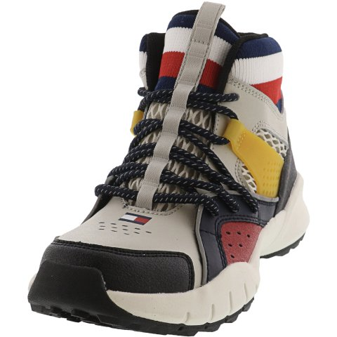 Tommy Hilfiger Trail Mid Ankle-High Leather Hiking Shoe
