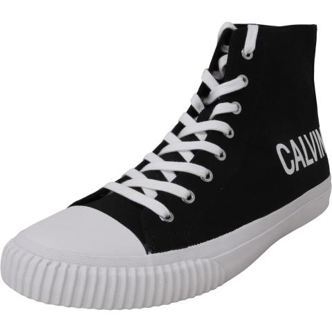 Calvin Klein Men's Iacopo Canvas High-Top Fabric Sneaker