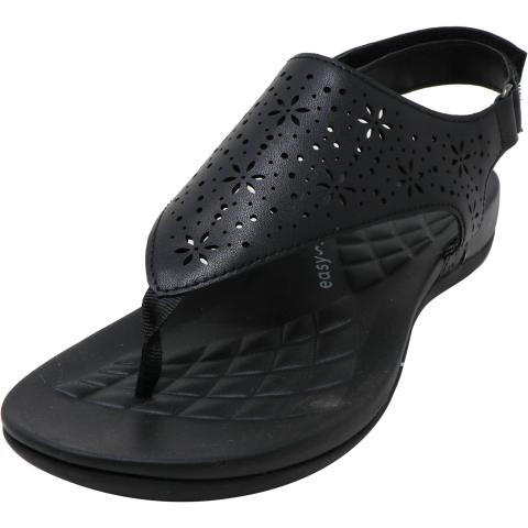 Easy Spirit Women's Aries 3 Ankle-High Leather Sandal
