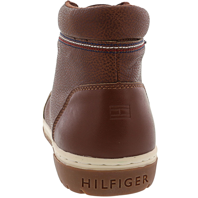 Tommy-Hilfiger-Para-Hombre-De-Alto-Top-Zapatillas-De-Clifford miniatura 6
