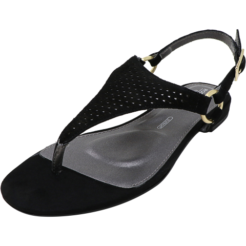 Rockport Women's Total Motion Zosia Thong Ankle-High Leather Sandal