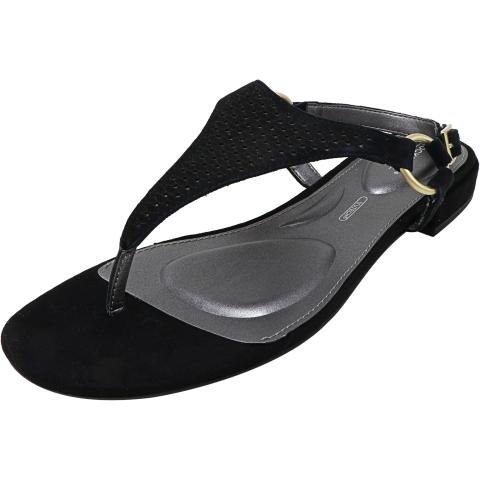 Dunham Women's Zosia Thong Ankle-High Leather Sandal