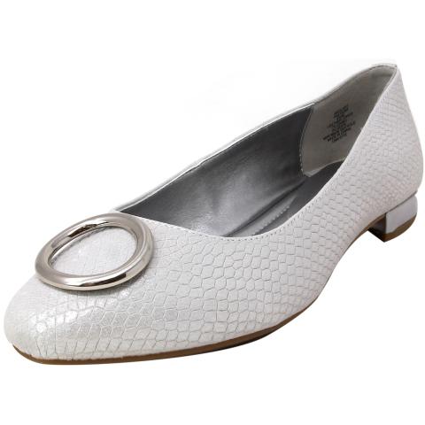 Anne Klein Women's Olivet Ankle-High Leather Ballet