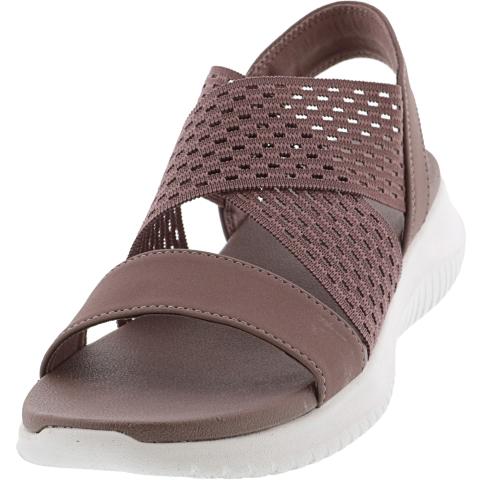 Skechers Women's Ultra Flex - Neon Star Ankle-High Sandal