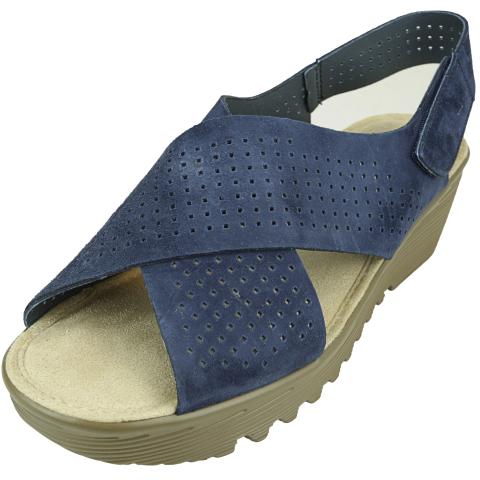 Skechers Women's Petite Parallel - Plot Ankle-High Leather Sandal
