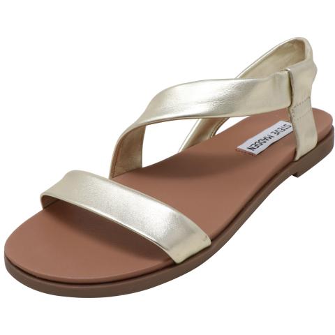 Steve Madden Women's Dessie Ankle-High Leather Sandal