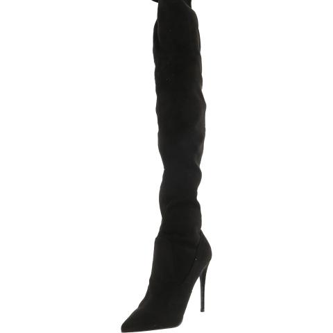 Steve Madden Women's Demanding Above the Knee Fabric Boot