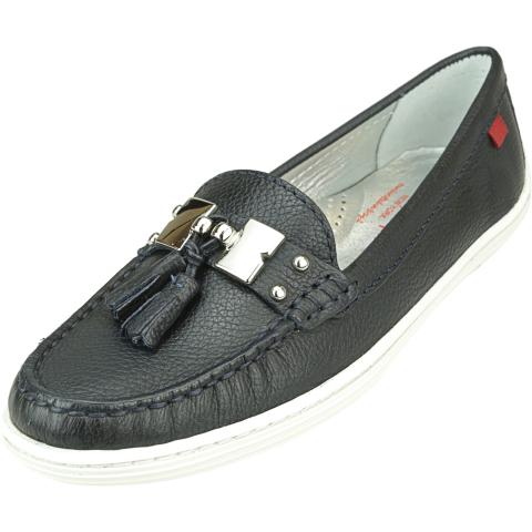Marc Joseph New York Women's Hudson Grainy Leather Loafers & Slip-On