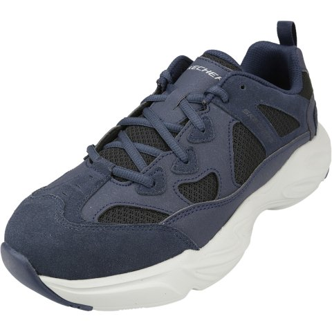 Skechers Men's Stamina Airy Ankle-High Leather Road Running