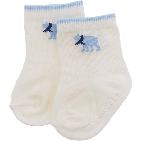 Janie And Jack Boy's Polar Bear Sock