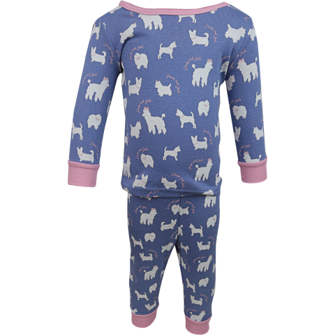 Janie And Jack Boy's Dog Pajama Set
