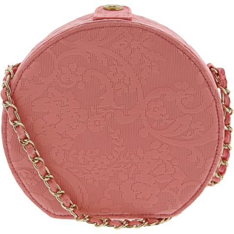 Janie And Jack Circle Jacquard Purse Fabric Top-Handle Bag
