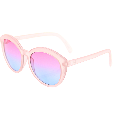 Janie And Jack Ombre Tinted Sunglasses 200385810 Pink Round