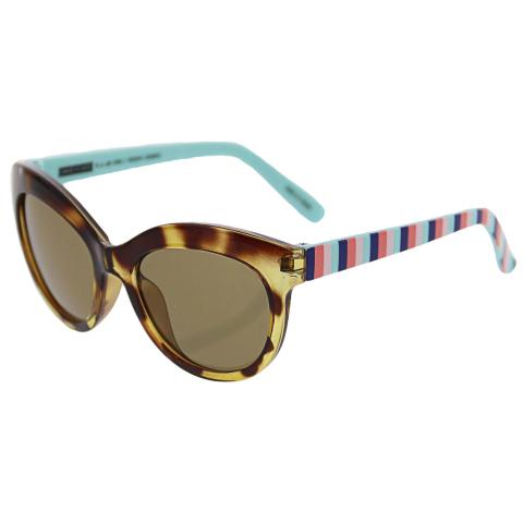 Janie And Jack Tortoise Cat Eye Sunglasses 2-4 Years 200385812 Brown