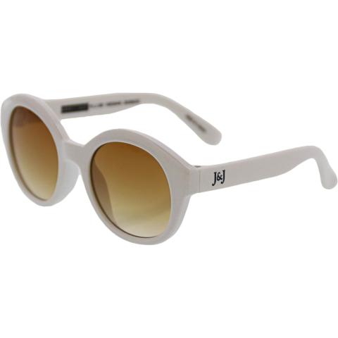 Janie And Jack Shimmer Round Sunglasses 2-4 Years 200386293 White