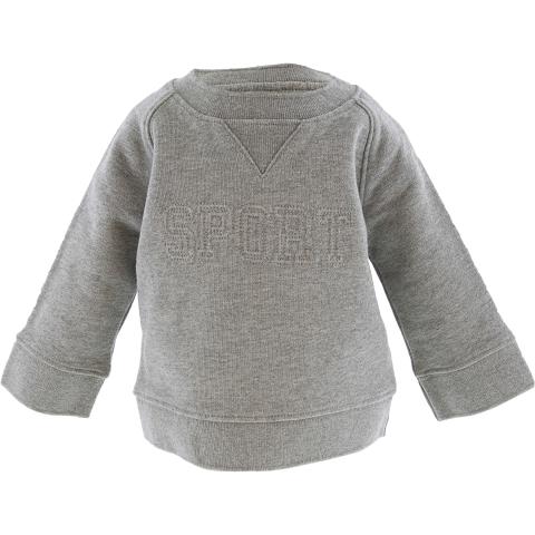 Janie And Jack Boy's Embossed Sweatshirt Pullover