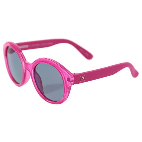 Janie And Jack Round Sunglasses 0-2 Years 200397398 Pink