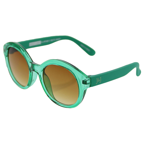 Janie And Jack Round Sunglasses 200403877 Green