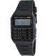 Casio Men's Core CA53W-1 Black Plastic Quartz Watch - Main Image Swatch