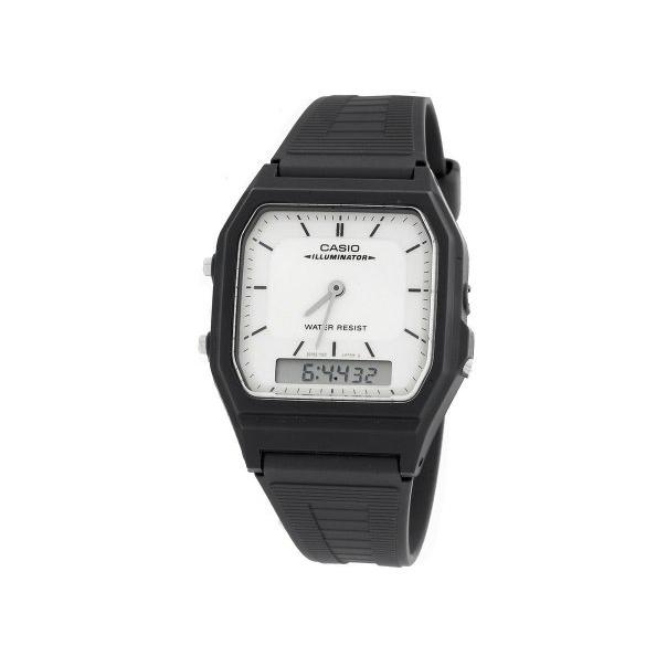 Casio Men's AQ51-7E White Resin Quartz Watch