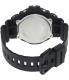 Casio Men's G-Shock DW6900-1V Black Resin Quartz Watch - Back Image Swatch