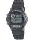 Casio Men's Core W87H-1V Black Plastic Quartz Watch - Main Image Swatch