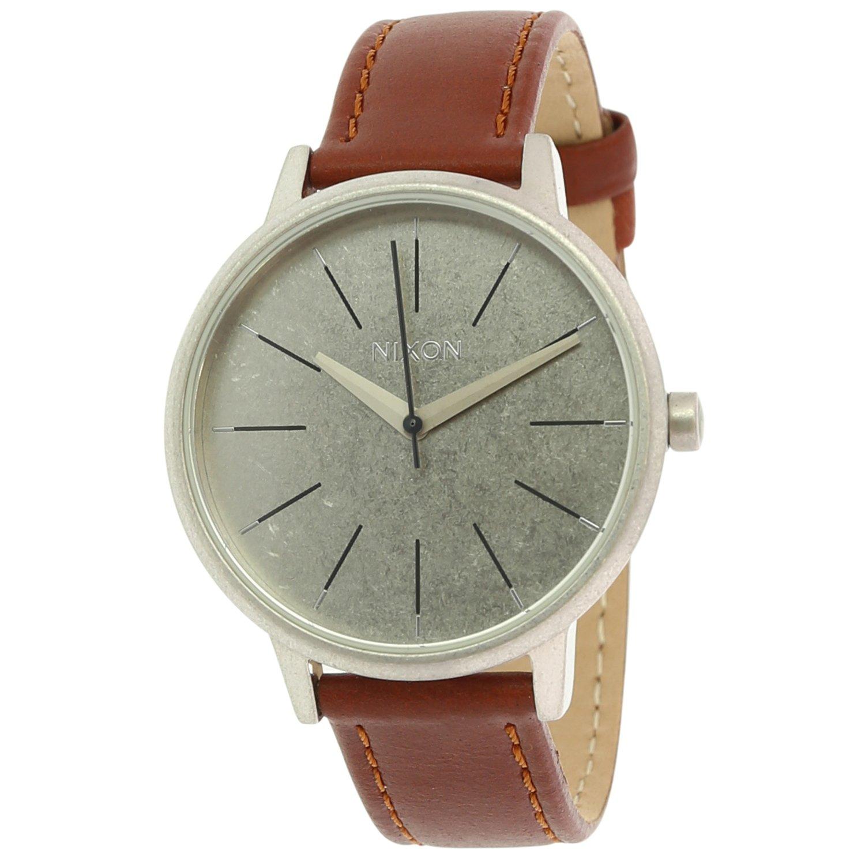 Nixon_Womens_Sentry_A108747_Brown_Leather_Japanese_Quartz_Fashion_Watch