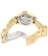 Invicta Men's Men Automatic Pro Diver G2 9010 Gold Stainless-Steel Automatic Watch - Back Image Swatch