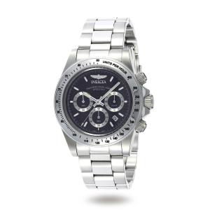 Invicta Men's Speedway Chronograph 9223 Black Stainless-Steel Quartz Watch