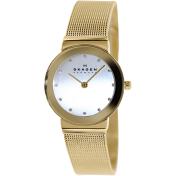 Skagen Women's 358SGGD Silver Stainless-Steel Quartz Watch