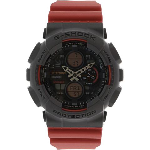 Casio Men's G-Shock GA140-4A Black Resin Japanese Automatic Sport Watch