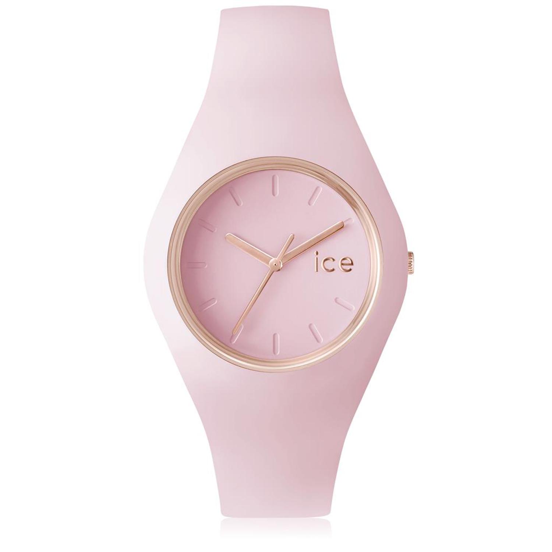 Ice-Watch_Women's_Glam_Pastel_001069_Pink_Silicone_Quartz_Fashion_Watch