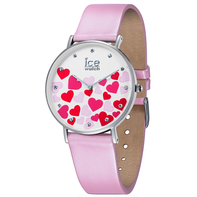 Ice-Watch_Women's_Love_013373_Pink_Leather_Quartz_Fashion_Watch