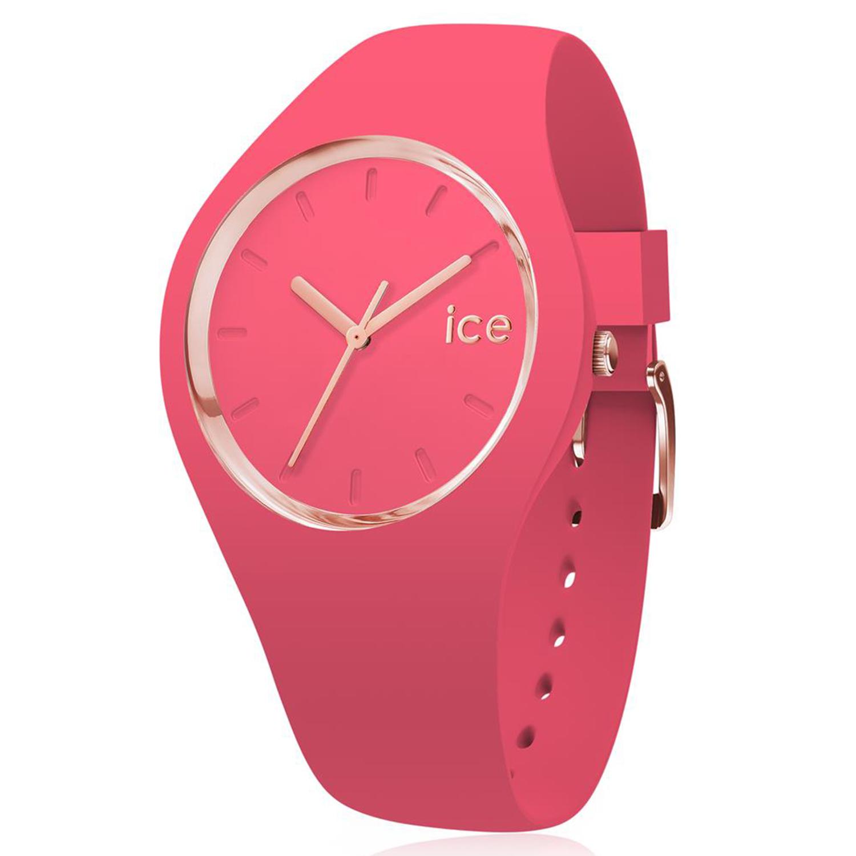 Ice-Watch_Women's_Glam_Colour_015335_Pink_Silicone_Quartz_Fashion_Watch