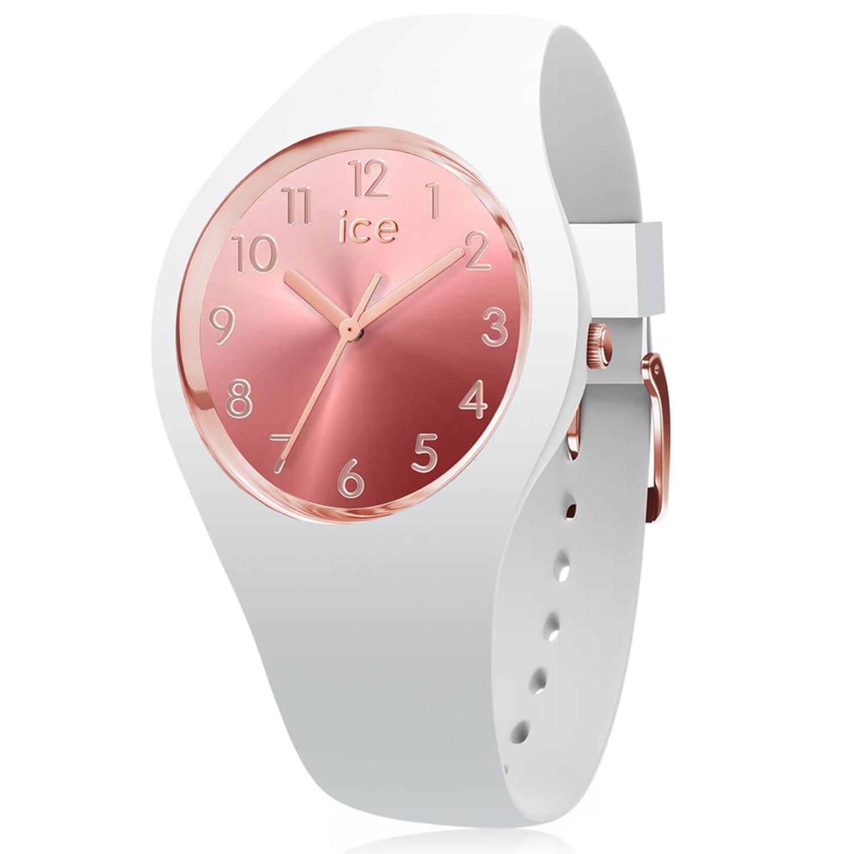 Ice-Watch_Women's_Sunset_015744_White_Silicone_Quartz_Fashion_Watch