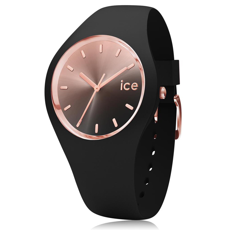Ice-Watch_Women's_Sunset_015748_Black_Silicone_Quartz_Fashion_Watch