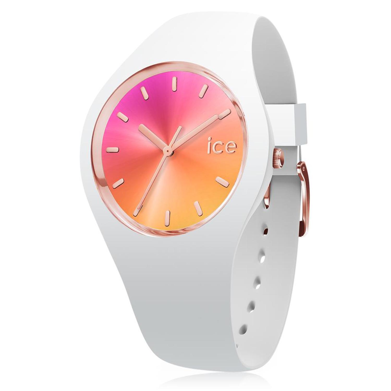 Ice-Watch_Women's_Sunset_015750_White_Silicone_Quartz_Fashion_Watch