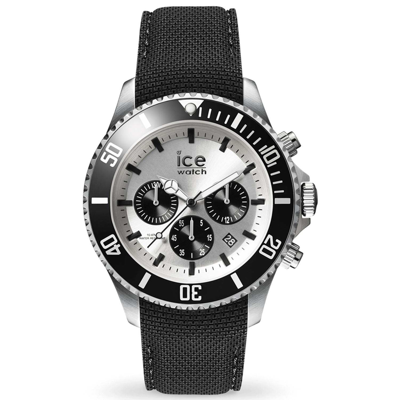 Ice-Watch_Men's_Steel_016302_Black_Silicone_Quartz_Fashion_Watch