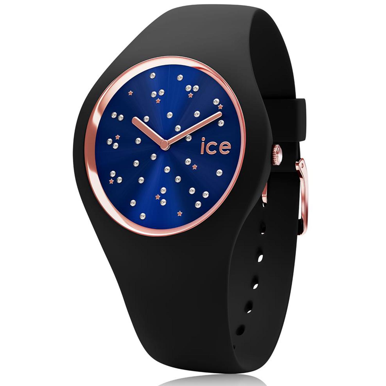 Ice-Watch_Women's_Cosmos_016294_Black_Silicone_Quartz_Fashion_Watch