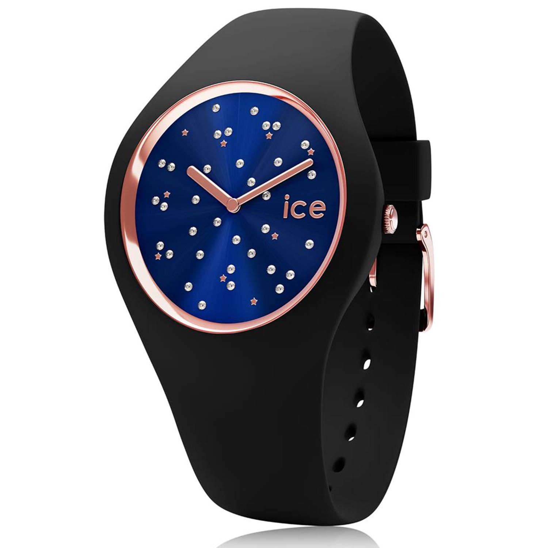 Ice-Watch_Women's_Cosmos_016298_Black_Silicone_Quartz_Fashion_Watch