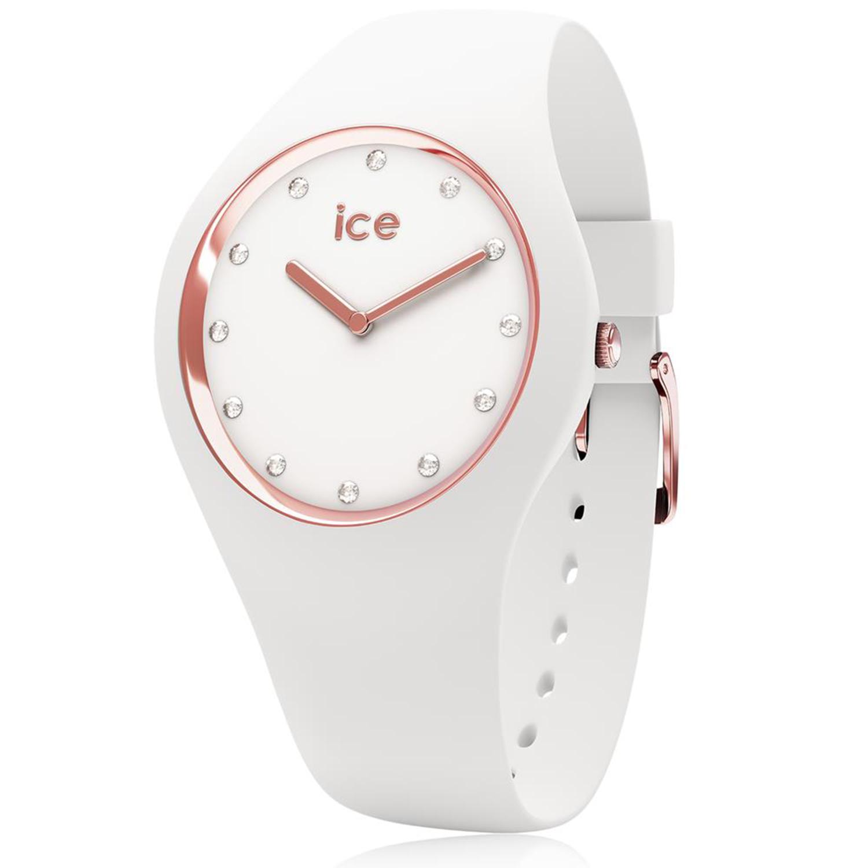 Ice-Watch_Women's_Cosmos_016300_White_Silicone_Quartz_Fashion_Watch