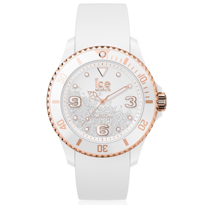 Ice-Watch_Women's_Crystal_017248_White_Silicone_Quartz_Fashion_Watch