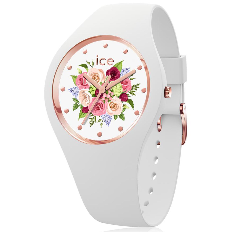 Ice-Watch_Women's_Flower_017575_White_Silicone_Quartz_Fashion_Watch