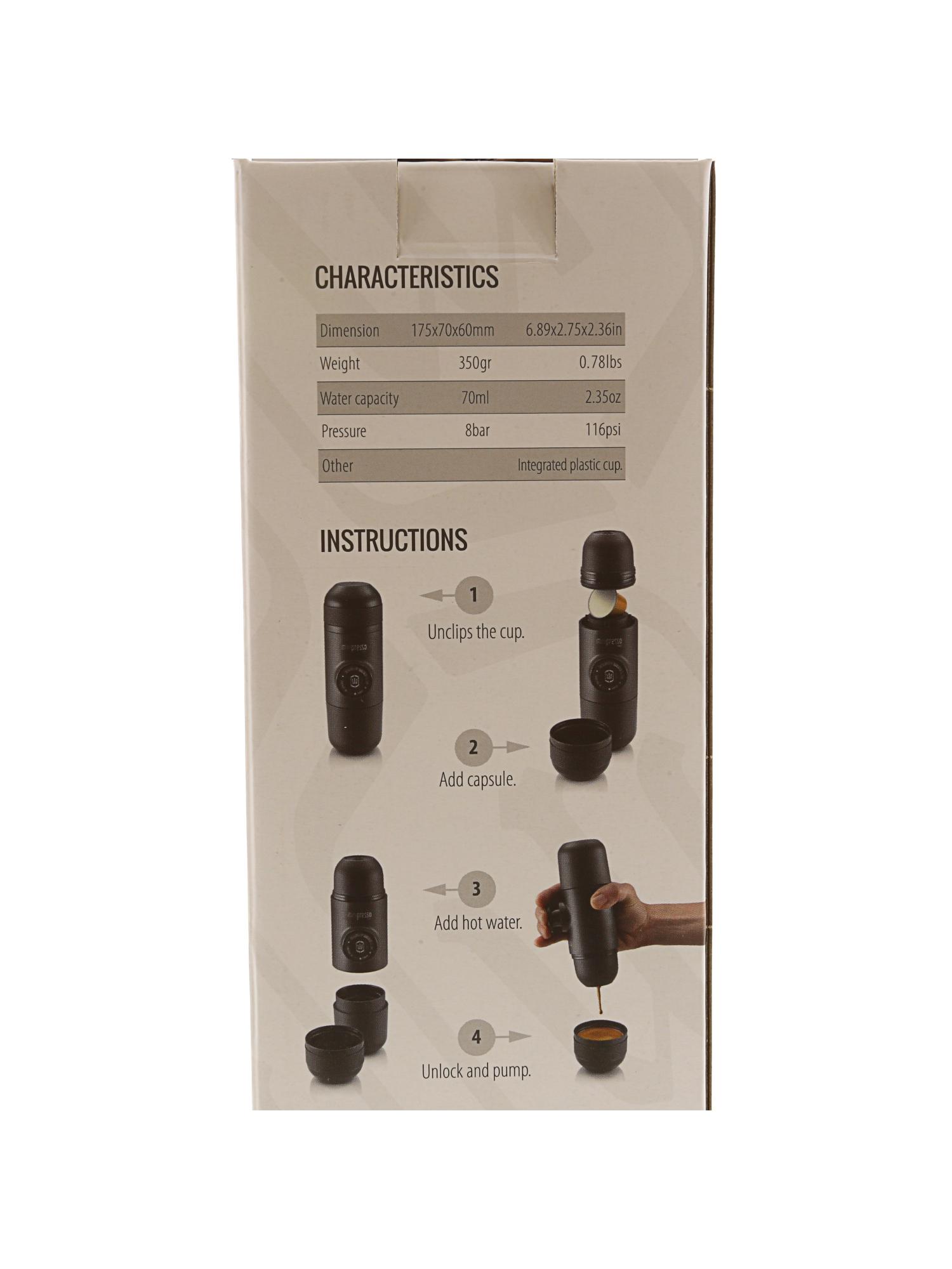 Wacaco Minipresso Ns Portable Espresso Maker Ebay