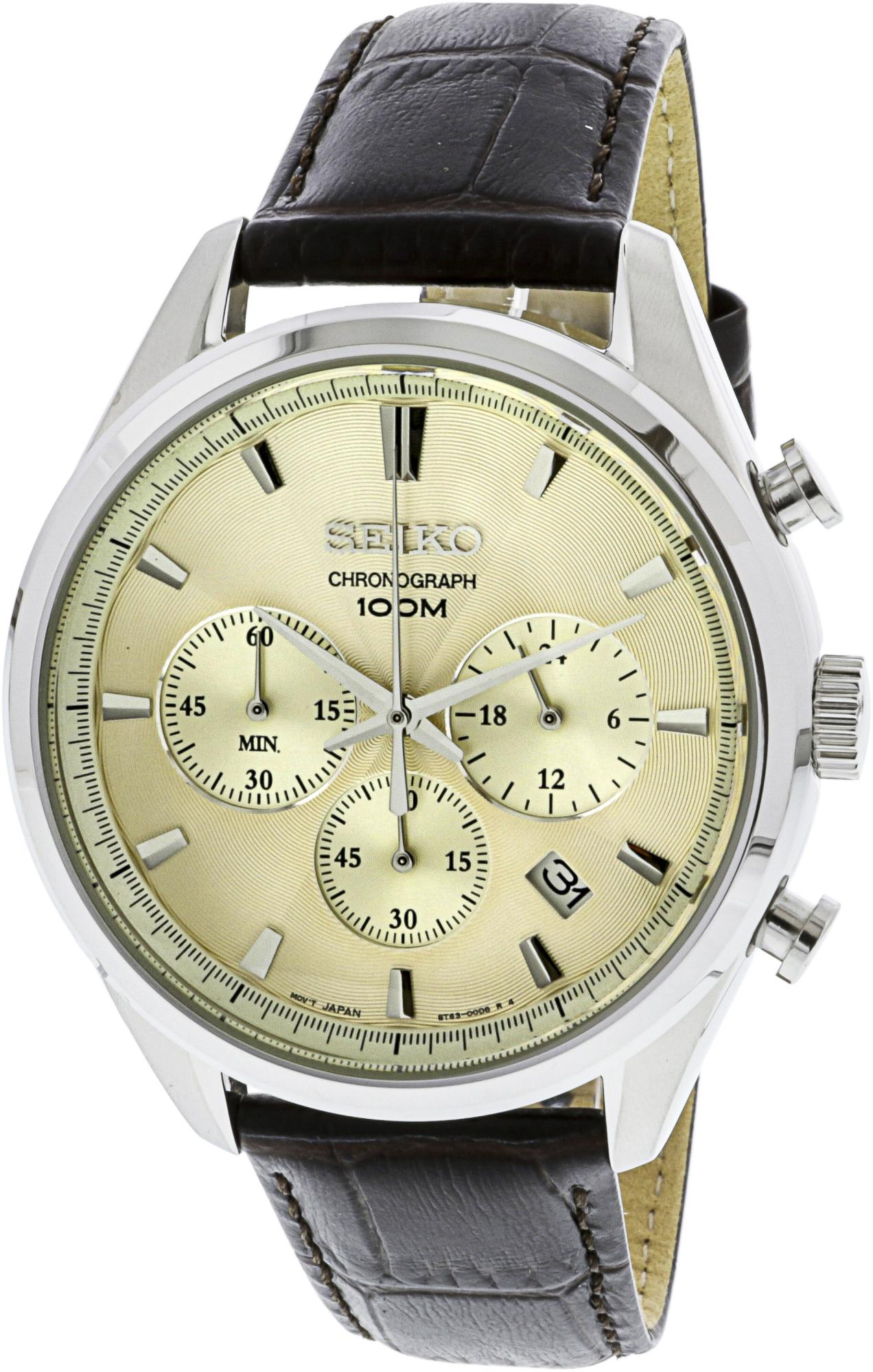 Seiko_Men's_SSB293_Silver_Leather_Japanese_Chronograph_Fashion_Watch