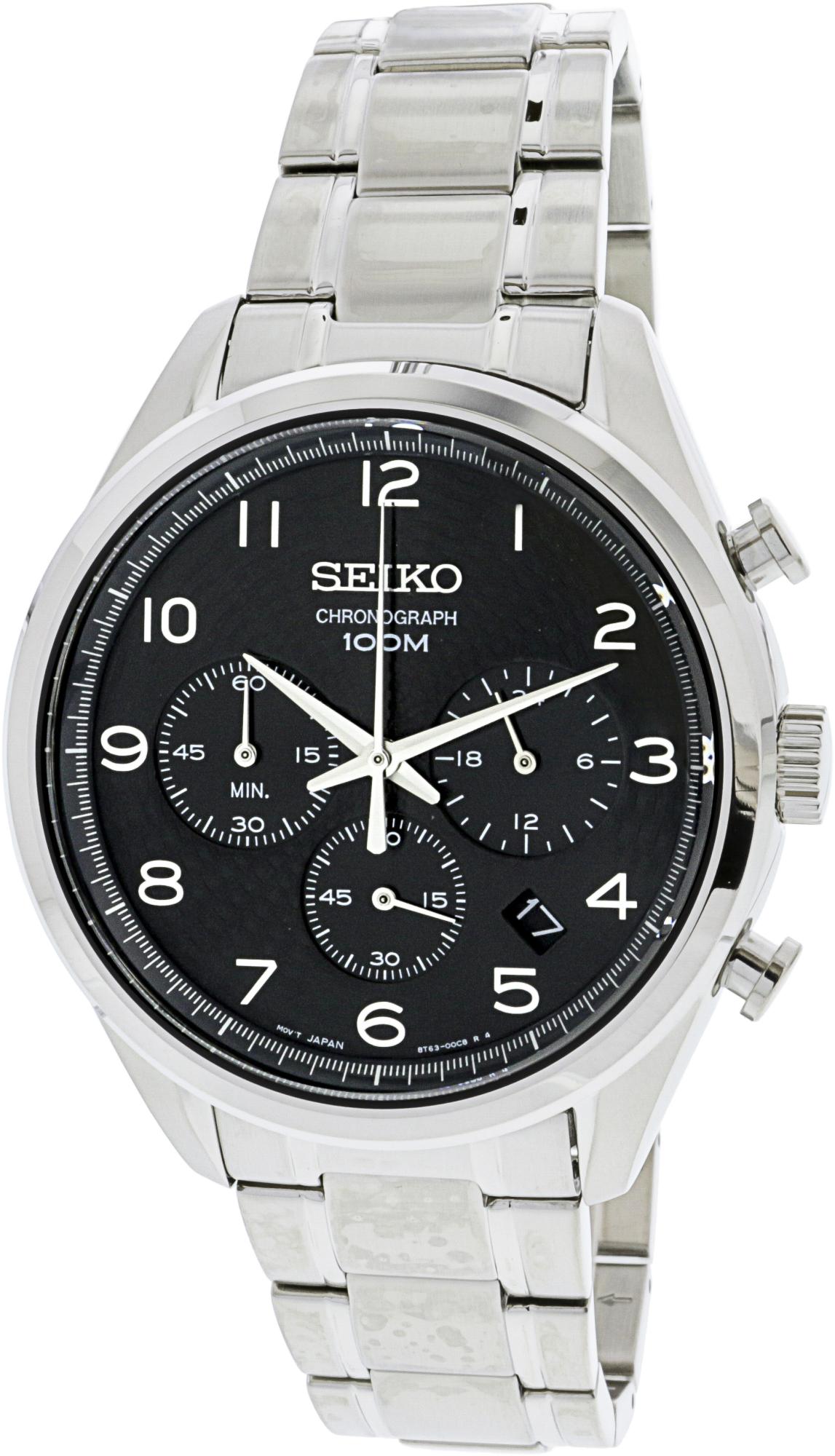 Seiko_Men's_SSB295_Silver_Stainless-Steel_Quartz_Fashion_Watch
