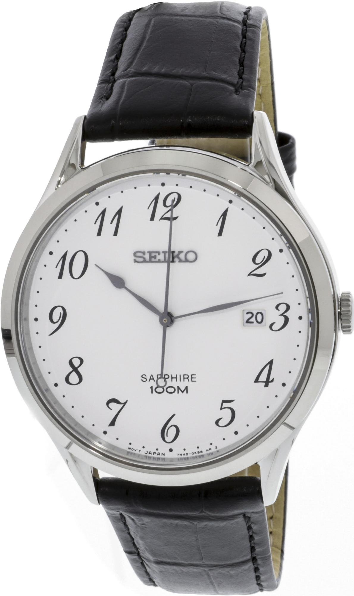 Seiko_Men's_SGEH75_Silver_Leather_Japanese_Quartz_Diving_Watch