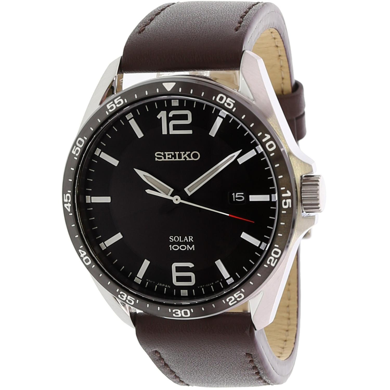 Seiko_Men's_Essentials_SNE487_Silver_Leather_Japanese_Quartz_Dress_Watch