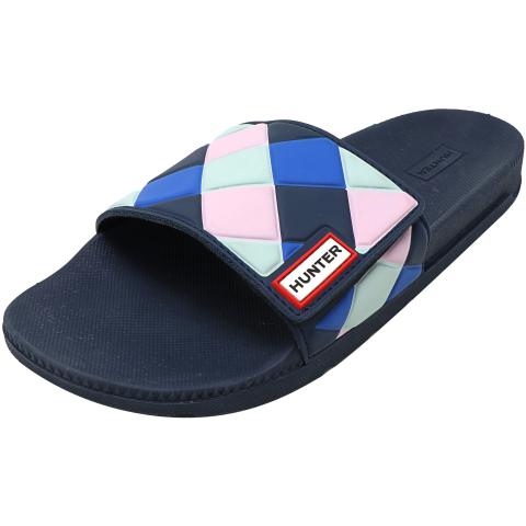 Hunter Women's Original Adjustable Slide Weave Sandal